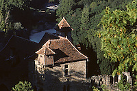 Europe/France/Midi-Pyrénées/46/Lot/Vallée du Lot/Saint-Cirq-Lapopie : La vallée
