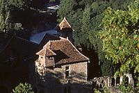 Europe/France/Midi-Pyrénées/46/Lot/Vallée du Lot/Saint-Cirq-Lapopie: La vallée