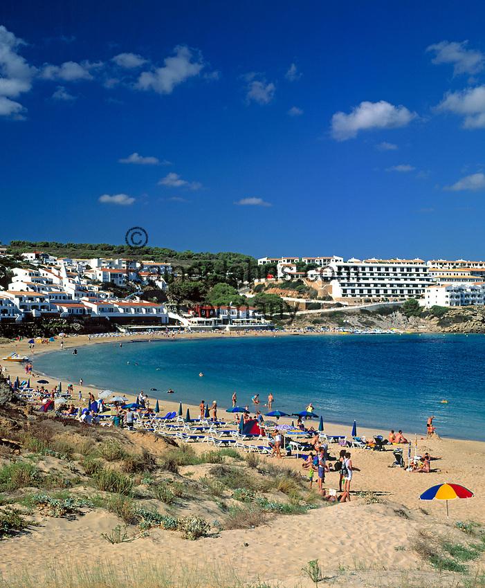 ESP, Spanien, Balearen, Menorca, Arenal d en Castell: moderner Ferienort im Norden   ESP, Spain, Balearic Islands, Menorca, Arenal d en Castell: moderner Ferienort im Norden