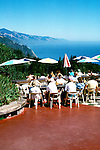 California: Monterey Region.  At Nepenthe's in Big Sur.  Photo #: camon4105..Photo copyright Lee Foster, 510/549-2202, lee@fostertravel.com, www.fostertravel.com