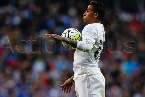 05.03.2016.  Madrid, Spain.  Danilo Luiz da Silva (23) Real Madrid. La Liga between Real Madrid versus Celta de Vigo at the Santiago Bernabeu stadium in Madrid, Spain