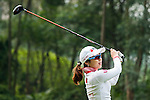 Hye-Youn Kim of Korea in action during the Hyundai China Ladies Open 2014 on December 10 2014 at Mission Hills Shenzhen, in Shenzhen, China. Photo by Xaume Olleros / Power Sport Images
