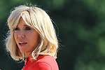 Brigitte Macron at Salzburg, Austria on 23rd of August 2017 © Pierre Teyssot