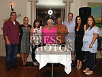 Tony and Kathleen Matthews celebrating their 50th wedding anniversary with sons Mark and Robert and daughters Jennifer, Elaine, Louise and Catherine in The Thatch. Photo:Colin Bell/pressphotos.ie