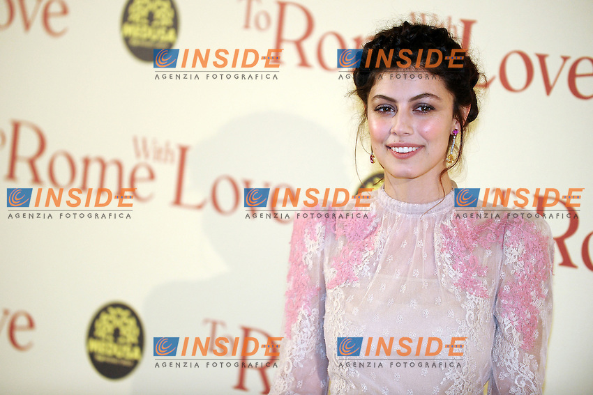 Alessandra Mastronardi.Roma 13/4/2012 Auditorium.To Rome with Love - World Premiere.Foto Insidefoto Andrea Staccioli