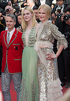 Nicole Kidman, Elle Fanning &amp; John Cameron Mitchell at the premiere for &quot;How To Talk To Girls At Parties&quot; at the 70th Festival de Cannes, Cannes, France. 21 May 2017<br /> Picture: Paul Smith/Featureflash/SilverHub 0208 004 5359 sales@silverhubmedia.com