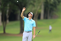 Thomas Pieters (BEL) on the 12th green during Friday's Round 2 of the 2017 PGA Championship held at Quail Hollow Golf Club, Charlotte, North Carolina, USA. 11th August 2017.<br /> Picture: Eoin Clarke | Golffile<br /> <br /> <br /> All photos usage must carry mandatory copyright credit (&copy; Golffile | Eoin Clarke)