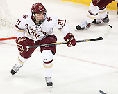 Matthew Gaudreau (BC - 21) - The Boston College Eagles defeated the visiting University of Connecticut Huskies 3-2 on Saturday, January 24, 2015, at Kelley Rink in Conte Forum in Chestnut Hill, Massachusetts.