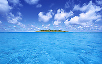 The lagoon of Kayangel, the most northern Island of Palau,Micronesia
