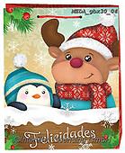 Dreams, CHRISTMAS ANIMALS, WEIHNACHTEN TIERE, NAVIDAD ANIMALES, paintings+++++,MEDAGBX30/04,#XA#