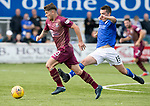 Queen of the South v St Johnstone&hellip;18.08.18&hellip;  Palmerston    BetFred Cup<br />Matty Kennedy gets away from Owen Bell<br />Picture by Graeme Hart. <br />Copyright Perthshire Picture Agency<br />Tel: 01738 623350  Mobile: 07990 594431
