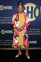 LOS ANGELES - JAN 5:  Yolonda Ross at the Showtime Golden Globe Nominees Celebration at the Sunset Tower Hotel on January 5, 2019 in West Hollywood, CA