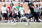 DENTON, TX MARCH 24: University of North Texas Mean Green Football Spring Football Game at Apogee Stadium in Denton on March 24, 2018 in Denton, Texas
