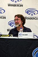 Eric Lewald at Wondercon in Anaheim Ca. March 31, 2019