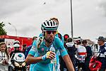 Vincenzo Nibali (ITA,AST) after finishing 30th at Liège-Bastogne-Liège, Ans, Belgium, 27 April 2014, Photo by Pim Nijland / www.pelotonphotos.com
