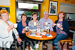 Alzheimer's Coffee Morning: Pictured at the North Kerry Alzheimer's Society coffee morning held at Christy's Bar, Listowel on Friday morning last were Helen Toomey, Annette Shanahan, Cathleen Herlihy, Tony Moynihan & Ann Ing.