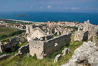 Cirella, Calabria, Italy, May 2007. The ancient ruins of Cirella. Many picturesque towns line the mountainous coastline of Calabria. Photo by Frits Meyst/Adventure4ever.com