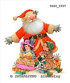 GIORDANO, CHRISTMAS SANTA, SNOWMAN, WEIHNACHTSMÄNNER, SCHNEEMÄNNER, PAPÁ NOEL, MUÑECOS DE NIEVE, paintings+++++,USGI2297,#X# stickers