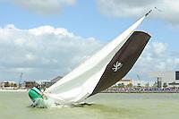 SKÛTSJESILEN: LEMMER: 30-07-2015, SKS kampioenschap 2015, skûtsje Leeuwarden, ©foto Martin de Jong