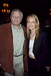 Brian Dennehy and Helen Hunt attending the Sixty-Ninth Annual Drama League Awards Luncheon at the Grand Hyatt Hotel in<br />New York City.<br />May 9, 2003.