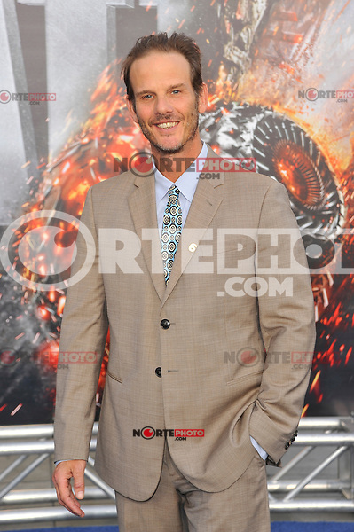 Peter Berg at the film premiere of 'Battleship,' at the NOKIA Theatre at L.A. LIVE in Los Angeles, California. May, 10, 2012. ©mpi35/MediaPunch Inc.