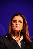 SÃO PAULO, 04 DE JUNHO DE 2012.WOMEN'S FÓRUM BRASIL. Maria das Graças Foster, Presidente  Petrobras, durante palestra na WOMEN'S Fórum Brazil nessa segunda-feira na regiao sul da capital paulista.  FOTO: ADRIANA SPACA - BRAZIL PHOTO PRESS