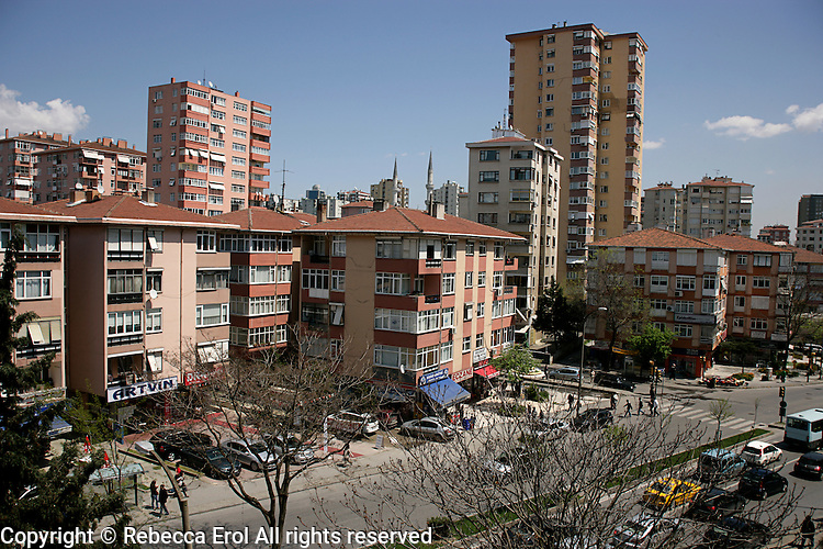 Erenkoy: a suburb on the Asian side of Istanbul, Turkey