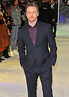 James McAvoy at the &quot;Glass&quot; UK film premiere, Curzon Mayfair, Curzon Street, London, England, UK, on Wednesday 09 January 2019.<br /> CAP/CAN<br /> &copy;CAN/Capital Pictures