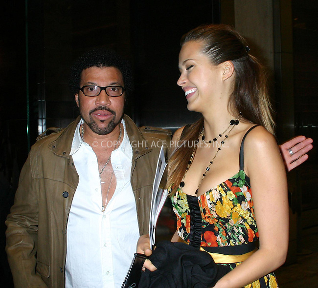 WWW.ACEPIXS.COM *** NO U.K. NEWSPAPERS SALES ***..MAY 2006, New York City....Lionel Richie and  Petra Nemcova in NYC....Please byline: R. BOCKLET-ACEPIXS.COM  ..  ***  ..Ace Pictures, Inc:  ..Philip Vaughan (212) 243-8787 or (646) 769 0430..e-mail: info@acepixs.com..web: http://www.acepixs.com