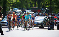 breakaway group on the Loorberg<br /> <br /> Amstel Gold Race 2014