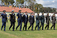 BOGOTÁ -COLOMBIA, 17-08-2013. Aspecto de la ceremonia en la cual se posesionó como director general de la Policía Nacional de Colombia el mayor general Rodolfo Palomino López en el campo de paradas de la  Escuela de Cadetes General Santander en Bogotá./ Aspect of the ceremony where the mayor general Rodolfo Palomino Lopez toke over as general director of National Police of Colombia at the stops field in the General Santander Cadet School in Bogota. Photo: VizzorImage/- Javier Casella - SIG / HANDOUT PICTURE; THIS PICTURE IS DISTRIBUITED AS A SERVICE TO  SUBSCRIBERS/ MANDATORY USE EDITORIAL ONLY/