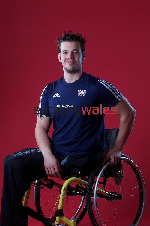 Wales Paralympic Athletes.Nathan Stephens..13.03.12..©Steve Pope