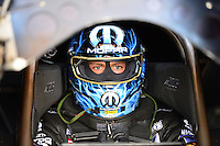 Jul, 20, 2012; Morrison, CO, USA: NHRA funny car driver Matt Hagan during qualifying for the Mile High Nationals at Bandimere Speedway. Mandatory Credit: Mark J. Rebilas-US PRESSWIRE