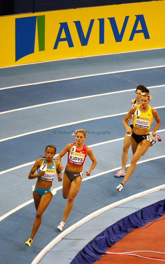 Photo: Richard Lane/Richard Lane Photography. Aviva Grand Prix. 20/02/2010. Women's One Mile.