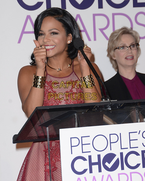 03 November - Beverly Hills, Ca - Christina MIlian. People's Choice Awards 2016 Nomination Press Conference held at The Paley Center for Media. <br /> CAP/ADM/BT<br /> &copy;BT/ADM/Capital Pictures