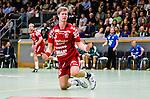 Stockholm 2013-11-10 Handboll Elitserien Hammarby IF - Eskilstuna Guif :  <br /> Eskilstuna Guif Viktor &Ouml;stlund sl&aring;r frustrerat ut med armarna<br /> (Foto: Kenta J&ouml;nsson) Nyckelord:  depp besviken besvikelse sorg ledsen deppig nedst&auml;md uppgiven sad disappointment disappointed dejected