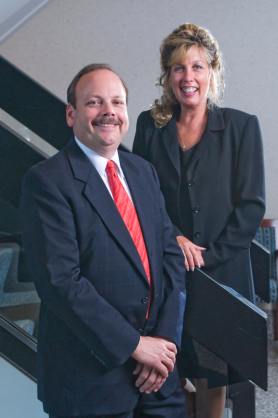 AIG Advisor Group partners, Peter Keim and Dawn R. Carey.