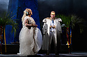 "PHOTOS ARE EMBARGOED UNTIL 19:30 28TH SEPTEMBER 2017.  English National Opera presents Verdi's ""Aida"", directed by Phelim McDermott, at the London Coliseum. Picture shows: Michelle DeYoung (Amneris), Matthew Best (King)"