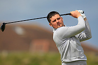 T.J. Ford (Co.Sligo) on the 5th tee during Round 1 of the The Amateur Championship 2019 at The Island Golf Club, Co. Dublin on Monday 17th June 2019.<br /> Picture:  Thos Caffrey / Golffile<br /> <br /> All photo usage must carry mandatory copyright credit (© Golffile | Thos Caffrey)