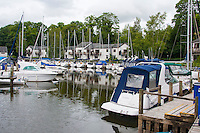 Marina on Lake Windermere, Cumbria.