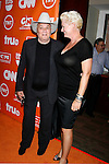 Actor Tony Curtis and Jill Curtis arrive at the Turner Broadcasting TCA Party at The Oasis Courtyard at The Beverly Hilton Hotel on July 11, 2008 in Beverly Hills, California.