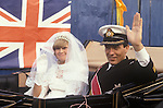ROYAL WEDDING CHARLES DIANA  1981