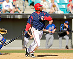 15 March 2006: Michael Tucker, outfielder for the Washington Nationals, at bat during a Spring Training game against the New York Mets. The Mets defeated the Nationals 8-5 at Space Coast Stadium, in Viera, Florida...Mandatory Photo Credit: Ed Wolfstein..