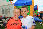 Alex Maguire and Jamie Murray<br /> at the Highlands sports day <br /> Picture www.newsfile.ie