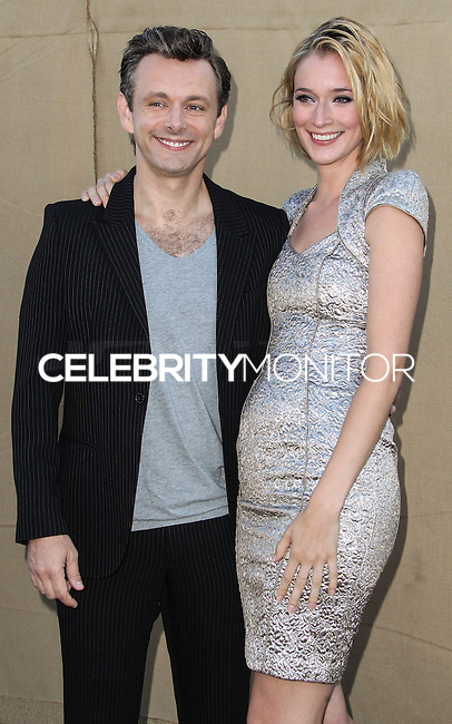 BEVERLY HILLS, CA - JULY 29: Michael Sheen and Caitlin FitzGerald attend the CBS, Showtime, CW 2013 TCA Summer Stars Party at 9900 Wilshire Blvd on July 29, 2013 in Beverly Hills, California. (Photo by Celebrity Monitor)