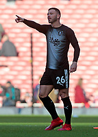 Burnley's Phillip Bardsley during the pre-match warm-up <br /> <br /> Photographer David Shipman/CameraSport<br /> <br /> The Premier League - Arsenal v Burnley - Saturday 22nd December 2018 - The Emirates - London<br /> <br /> World Copyright © 2018 CameraSport. All rights reserved. 43 Linden Ave. Countesthorpe. Leicester. England. LE8 5PG - Tel: +44 (0) 116 277 4147 - admin@camerasport.com - www.camerasport.com