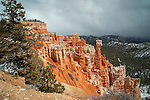 Aqua Canyon in Bryce Canyon with colorful hoodoos