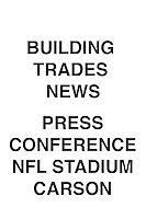 Building Trades News Press Conference NFL Carson