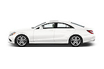 Car Driver side profile view of a 2015 Mercedes Benz CLS-Class CLS400 2 Door Coupe Side View
