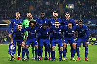 Chelsea Team photo during Chelsea vs Malmo FF, UEFA Europa League Football at Stamford Bridge on 21st February 2019